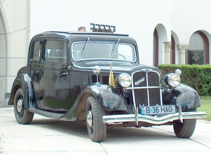 Hanomag Rekord I 1934 - 1940 Coupe #4