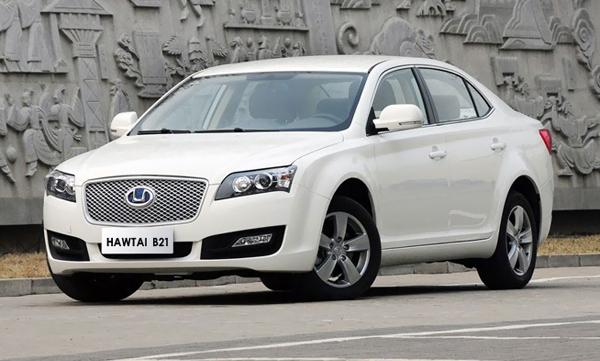 Hawtai B21 I 2013 - now Sedan #6