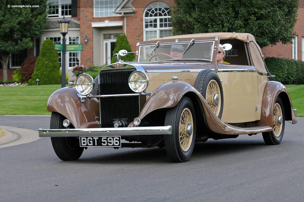Hispano-Suiza K6 1934 - 1937 Cabriolet #4