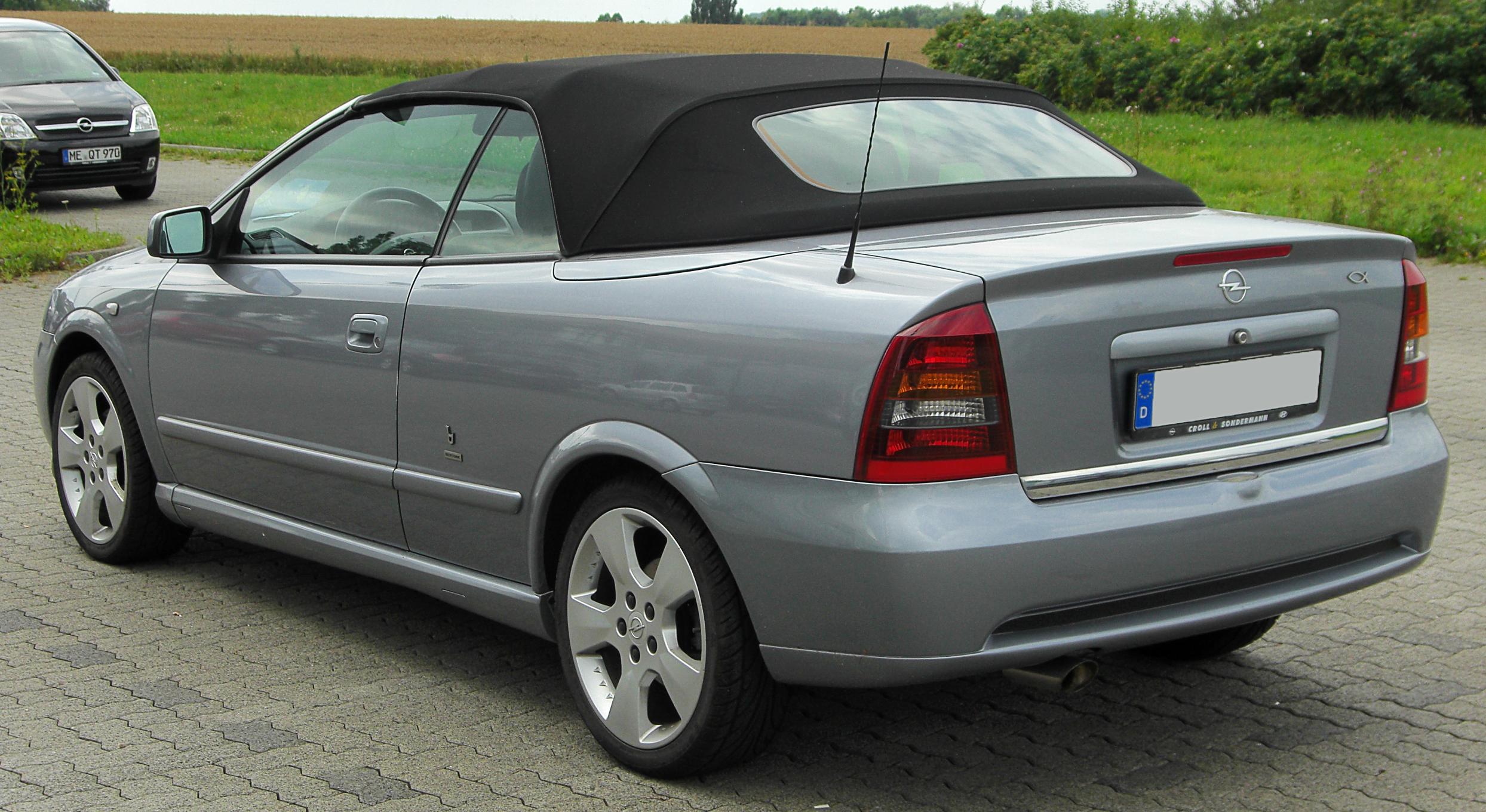 Holden Astra IV (TS) 1999 - 2004 Cabriolet #2