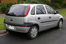 Holden Barina IV (XC) 2001 - 2005 Hatchback 5 door #8