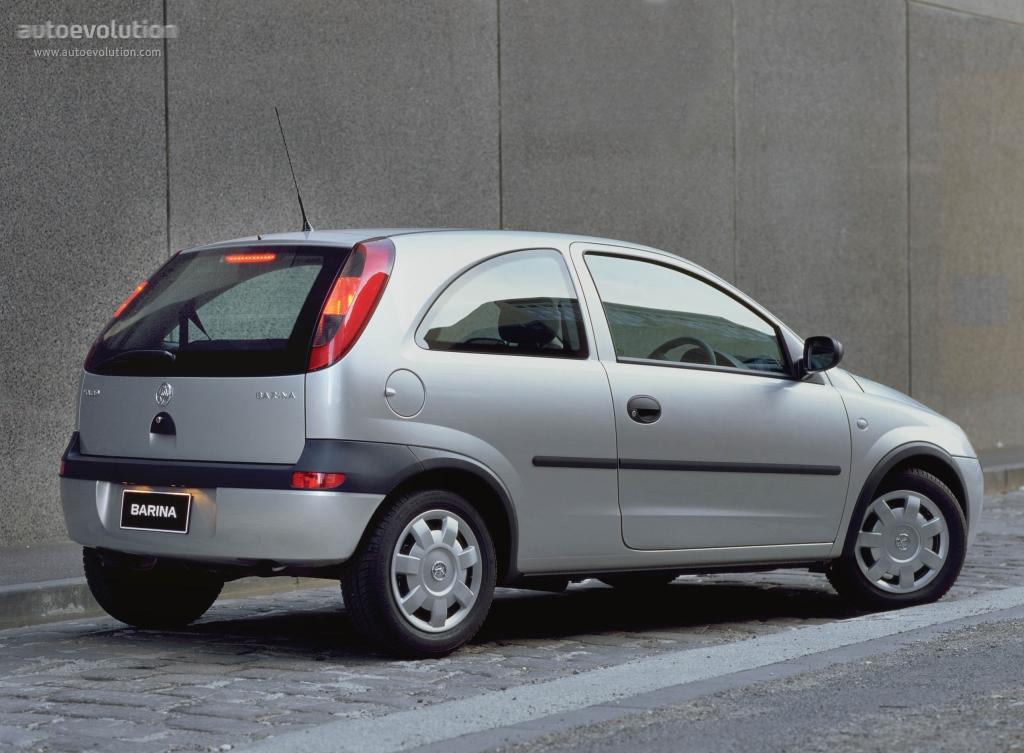 Holden Barina IV (XC) 2001 - 2005 Hatchback 5 door #4