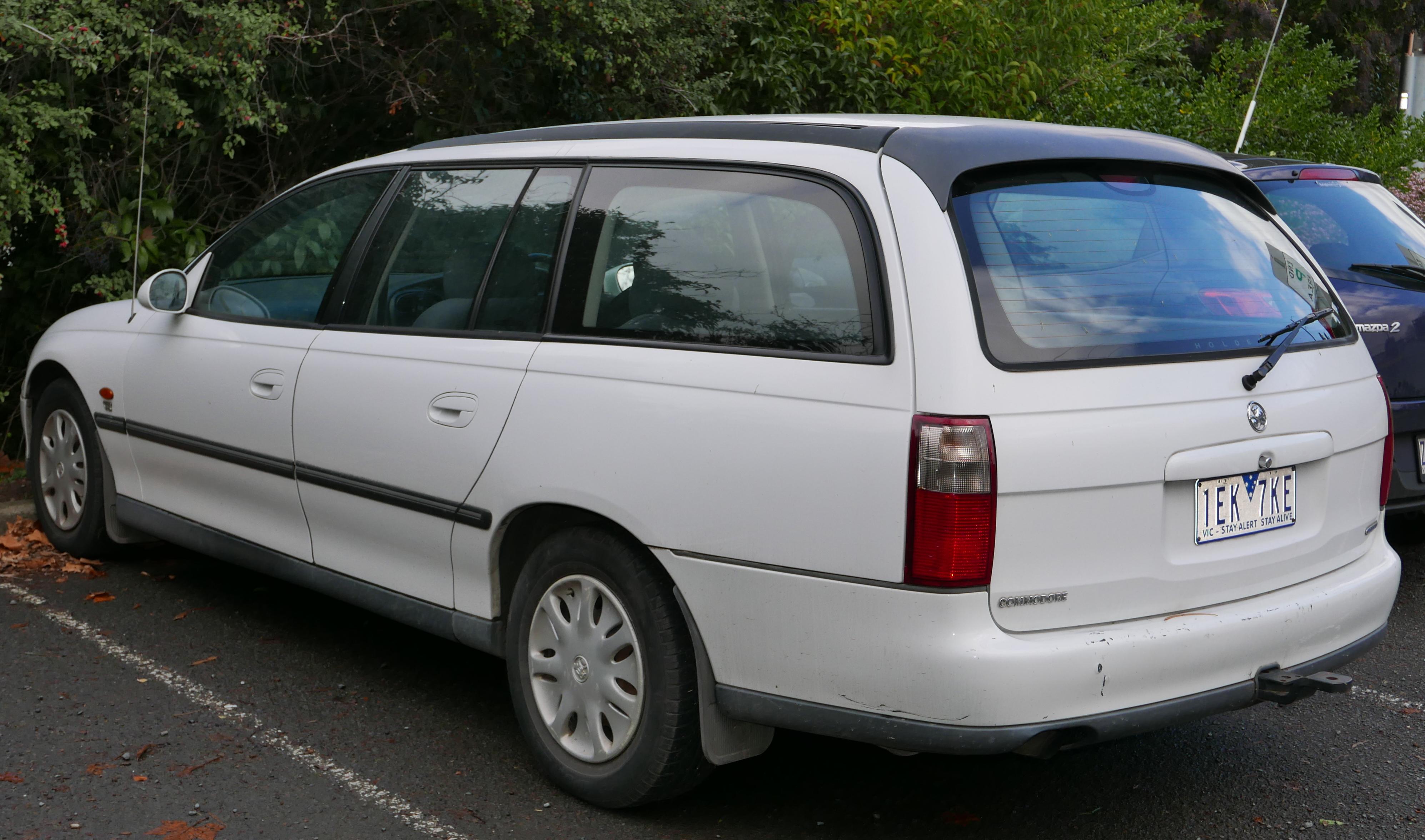 Holden Commodore III 1997 - 2006 Station wagon 5 door #3