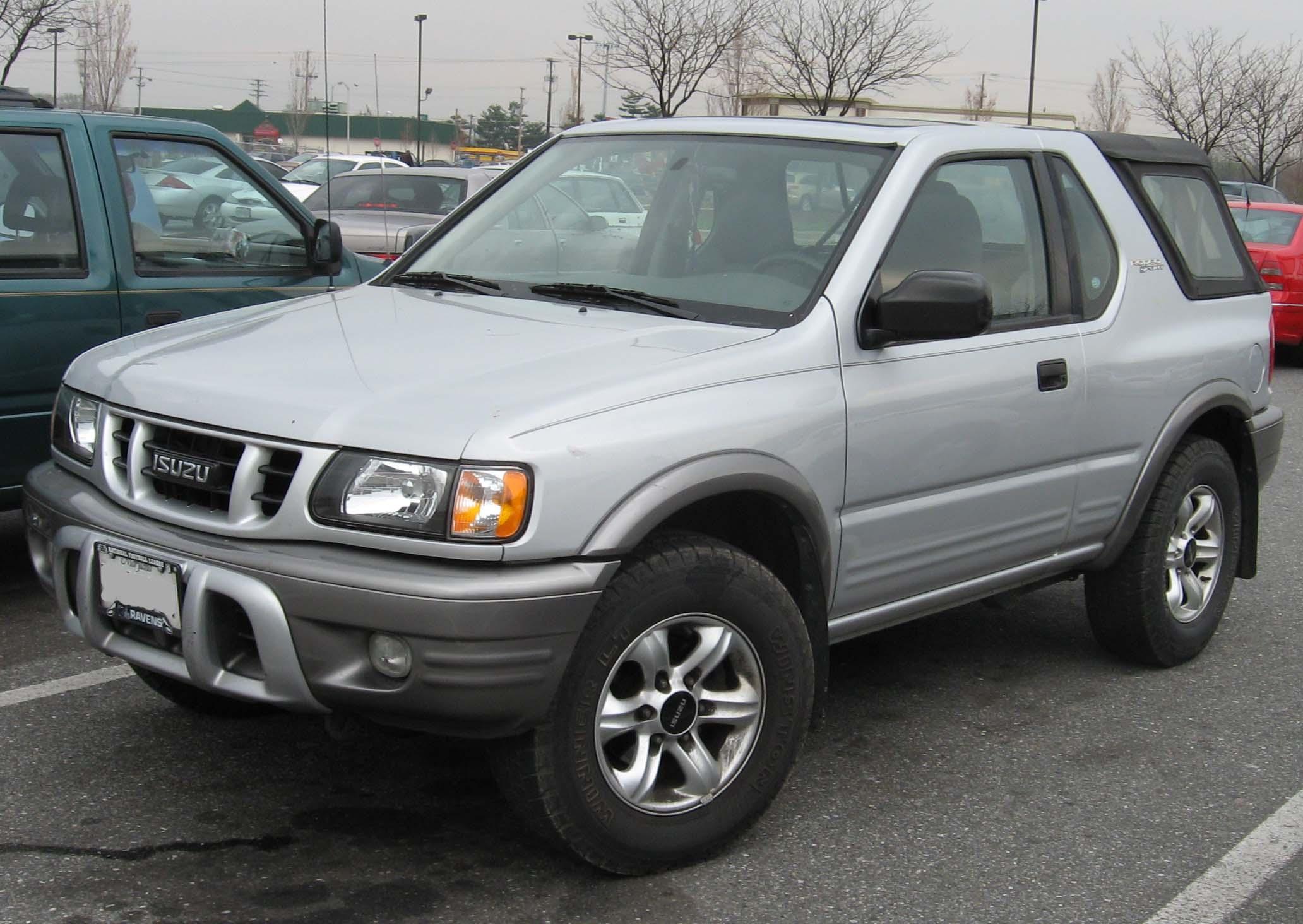 Isuzu MU II 1998 - 2004 SUV #5