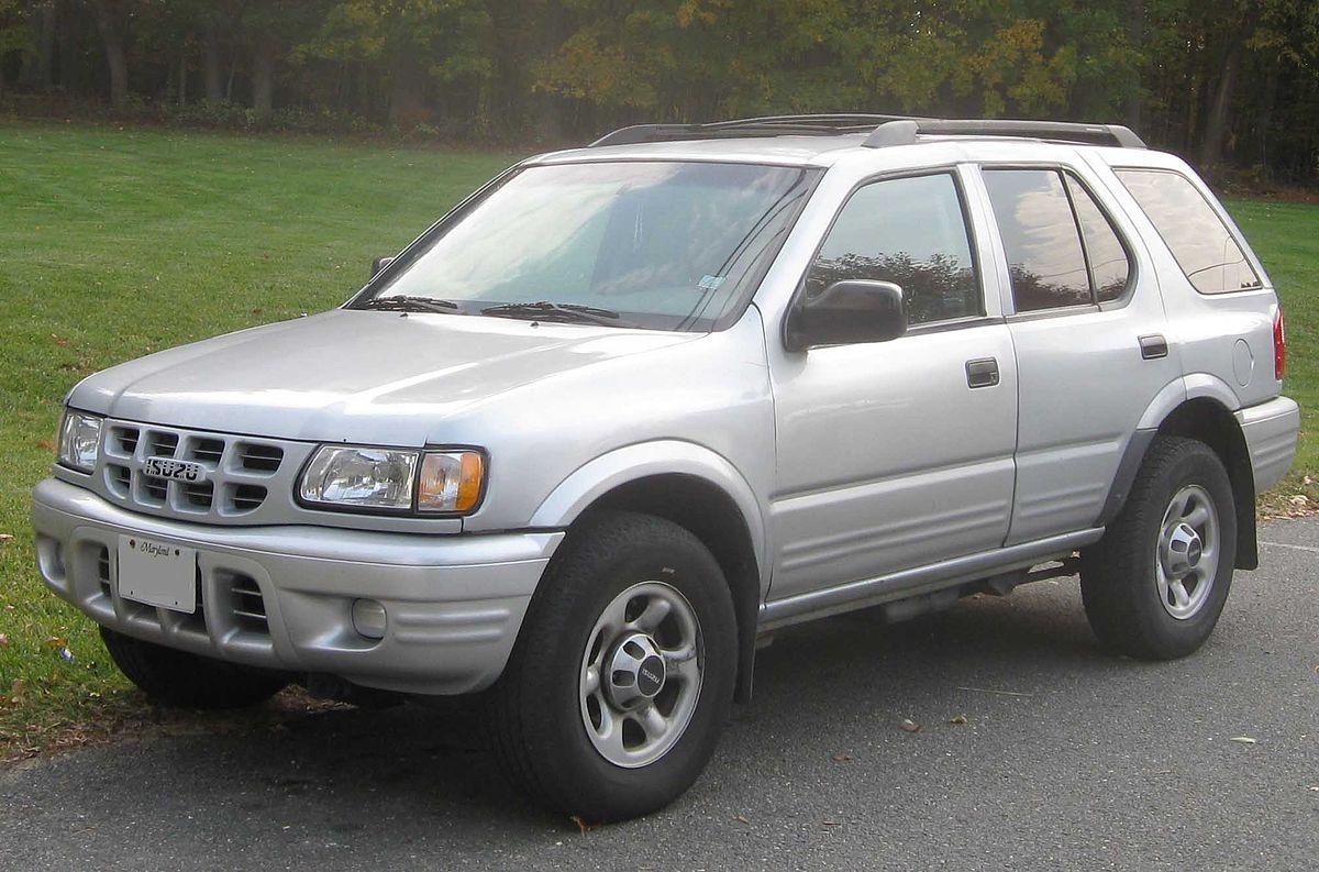 Isuzu MU II 1998 - 2004 SUV #8