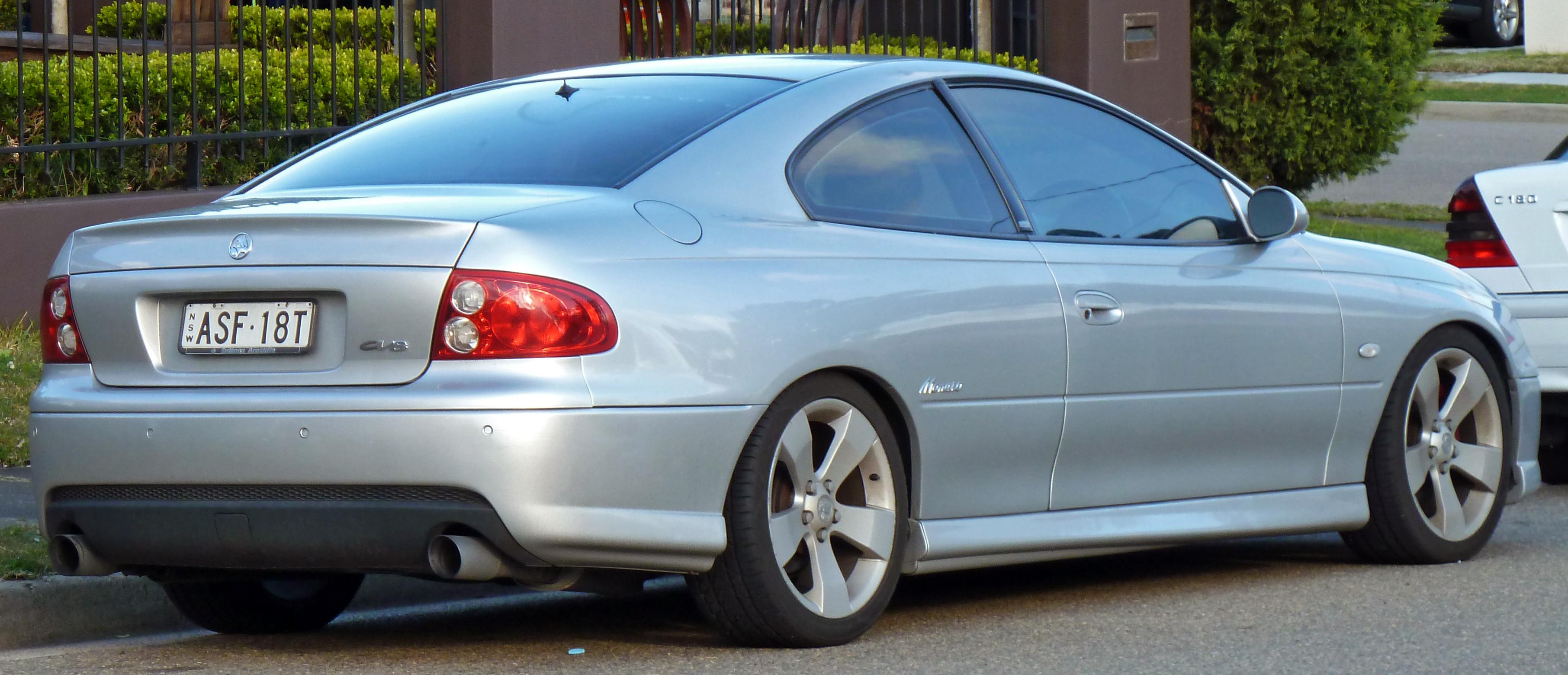 Holden Monaro 2001 - 2005 Coupe #4