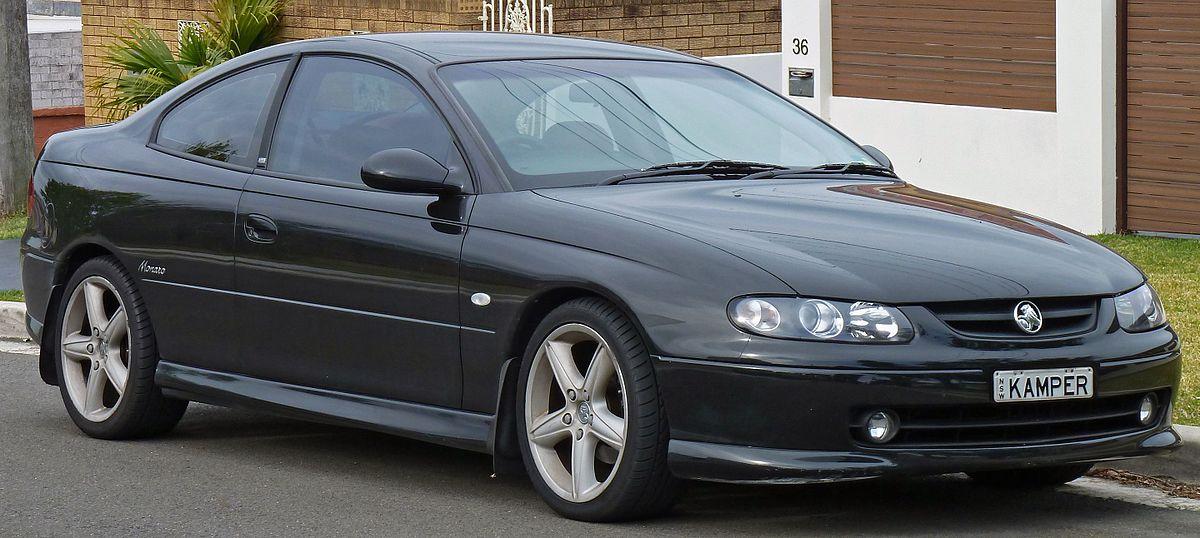 Holden Monaro 2001 - 2005 Coupe #7