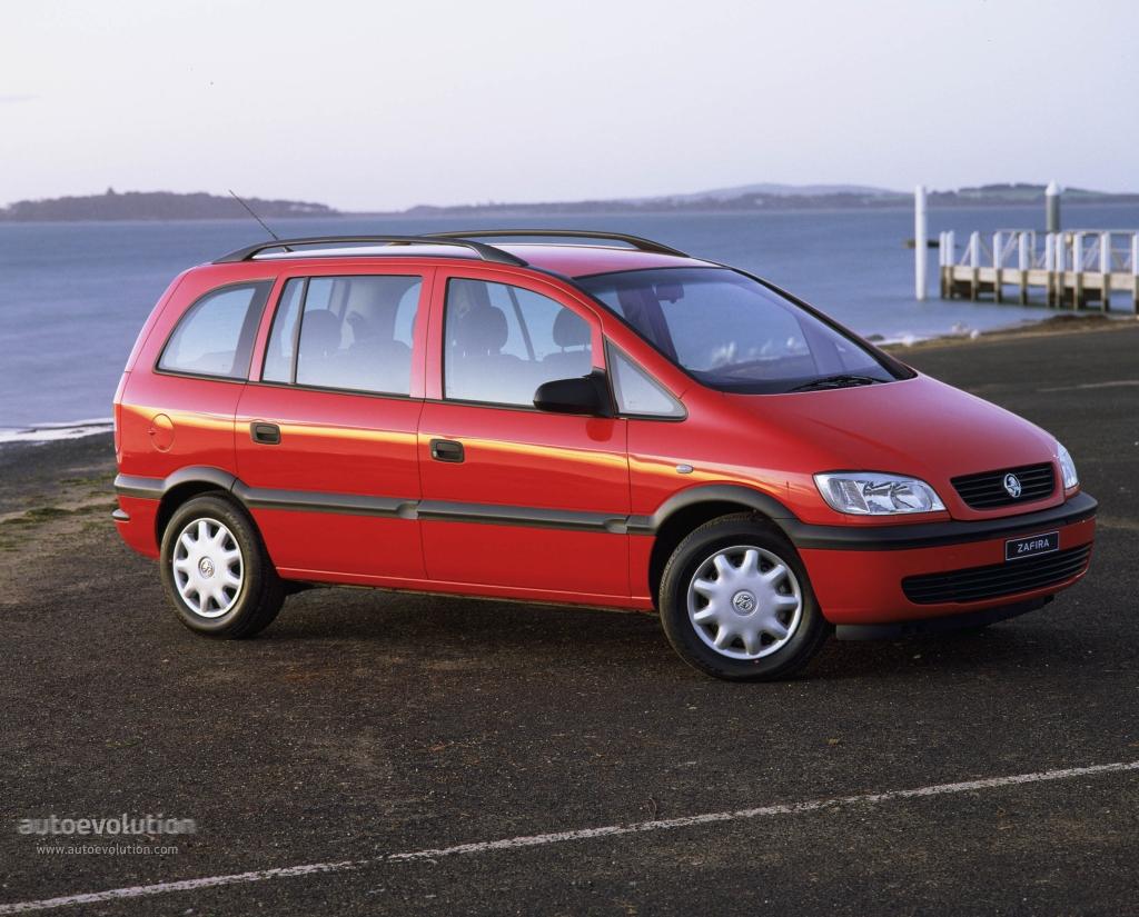 Holden Zafira 2001 - 2005 Compact MPV #1