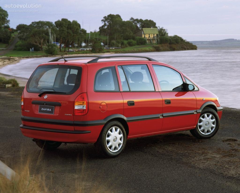 Holden Zafira 2001 - 2005 Compact MPV #4