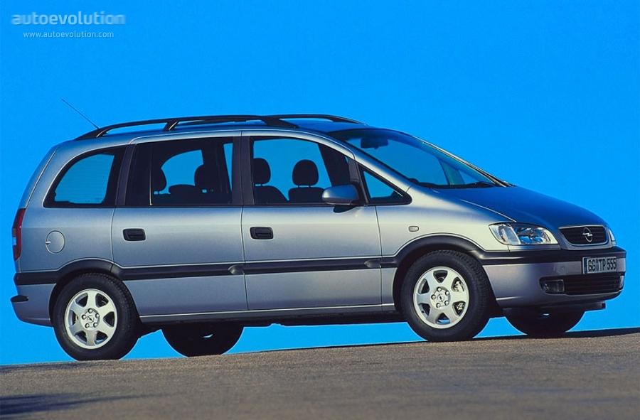 Opel Zafira A 1999 - 2002 Compact MPV #6