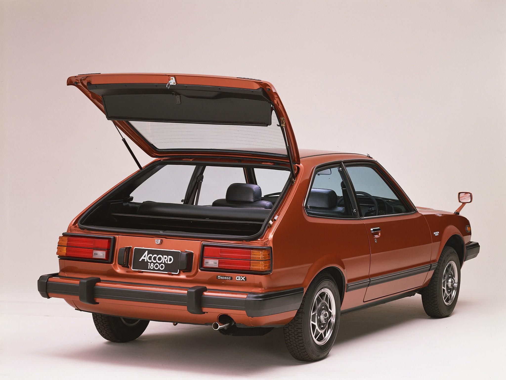 Honda Accord I 1976 - 1981 Hatchback 3 door #1