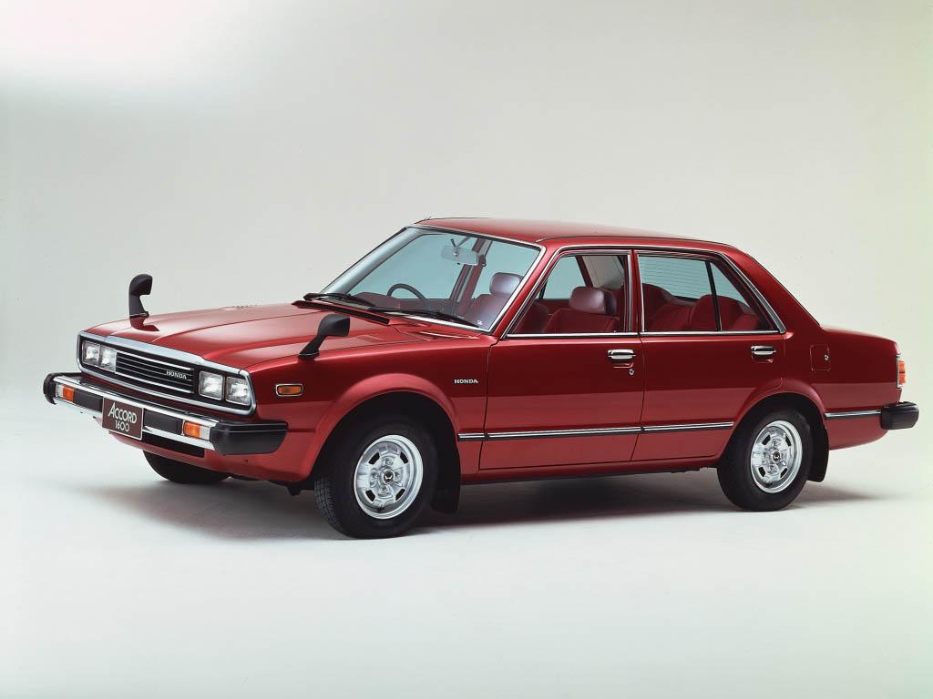 Honda Accord I 1976 - 1981 Sedan :: OUTSTANDING CARS