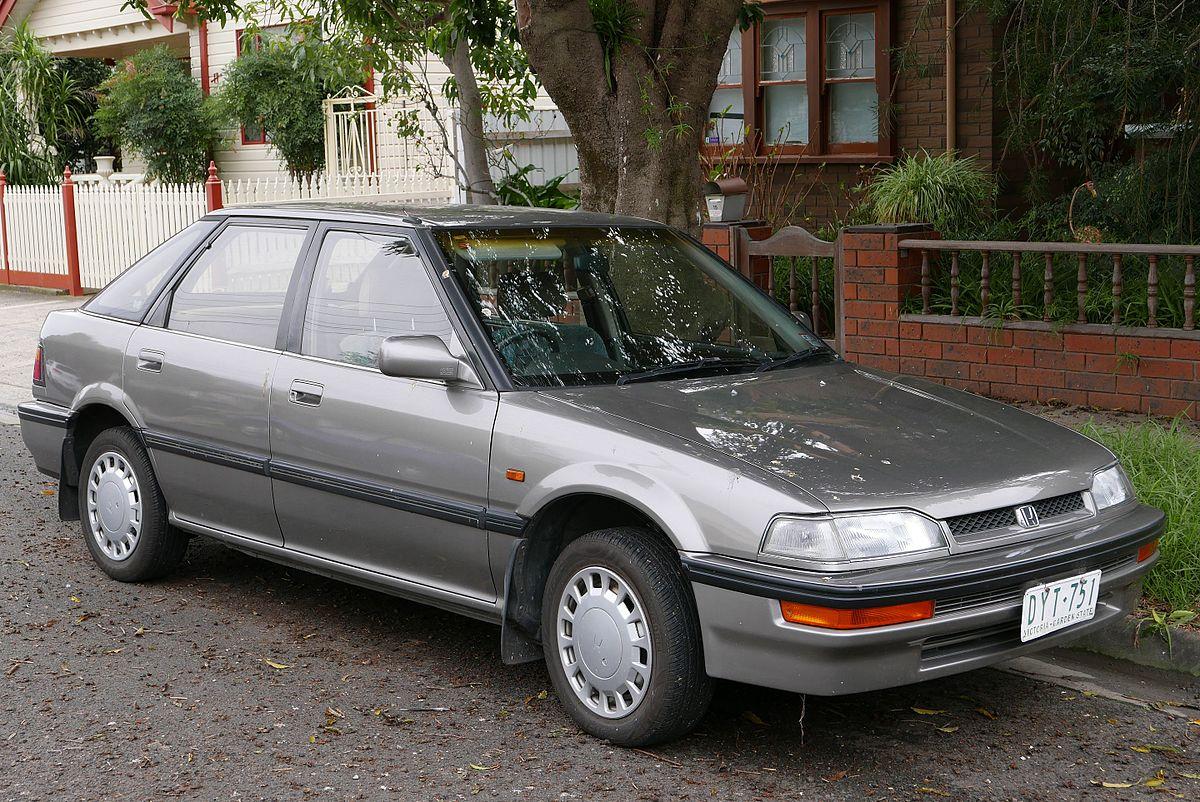 Honda Ascot I (CB) 1989 - 1993 Sedan #1