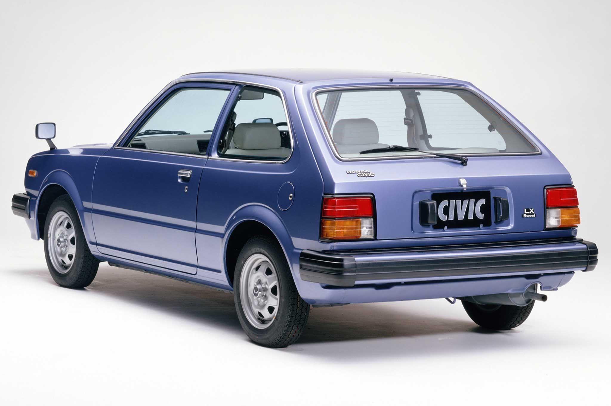 Honda Civic II 1979 - 1983 Sedan #8