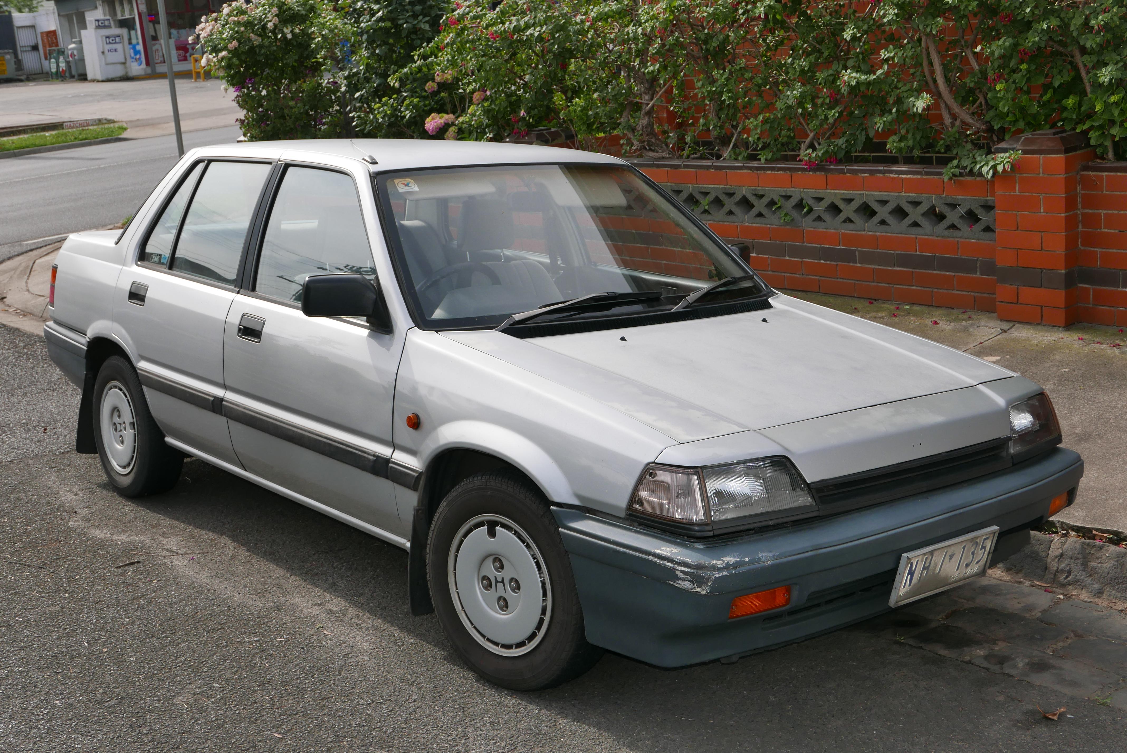 Honda Ballade II 1983 - 1987 Sedan #2