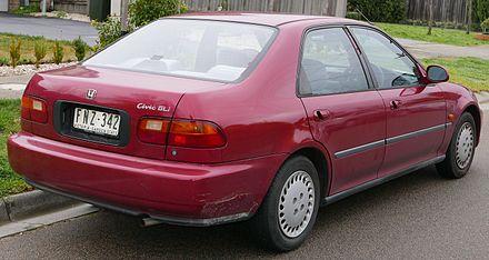 Honda Civic Ferio I 1991 - 1995 Sedan #3