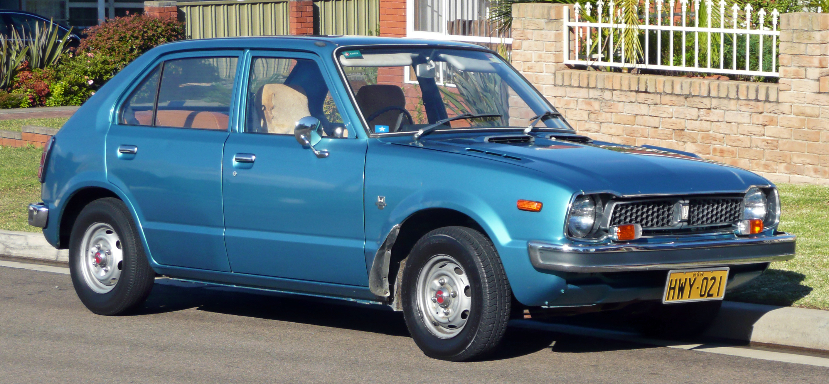 Honda Civic I 1972 - 1979 Hatchback 3 door #2