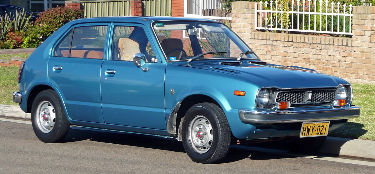 Honda Civic I 1972 - 1979 Hatchback 3 door #8