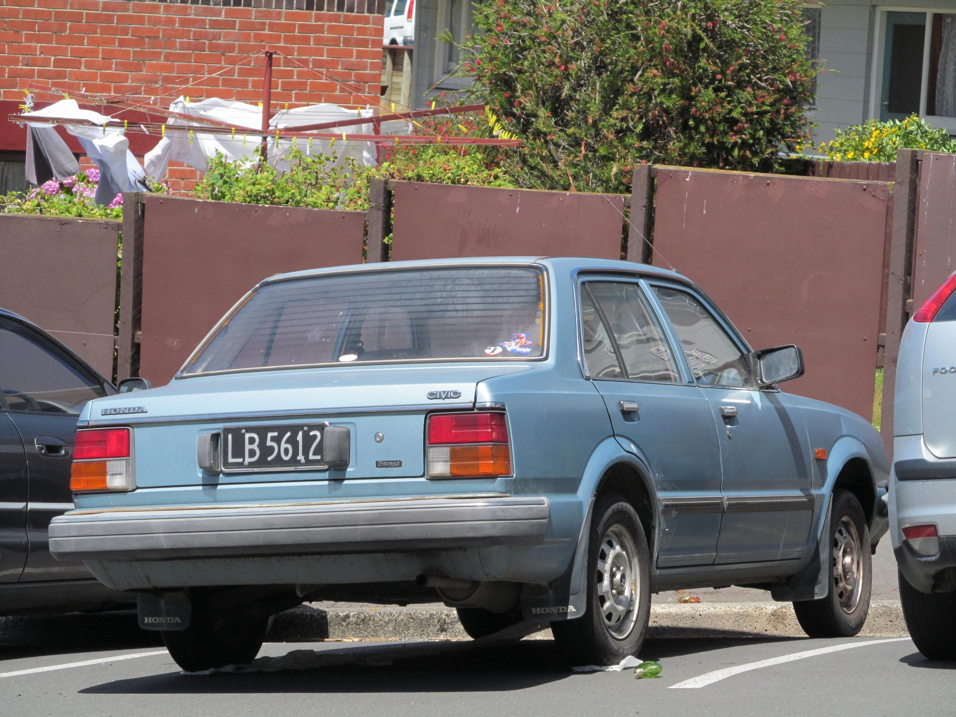 Honda Civic II 1979 - 1983 Sedan #5