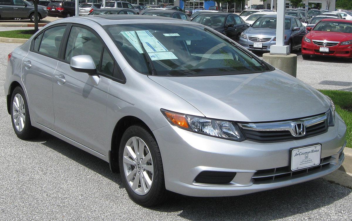 Honda Civic IX 2011 - 2015 Sedan #4