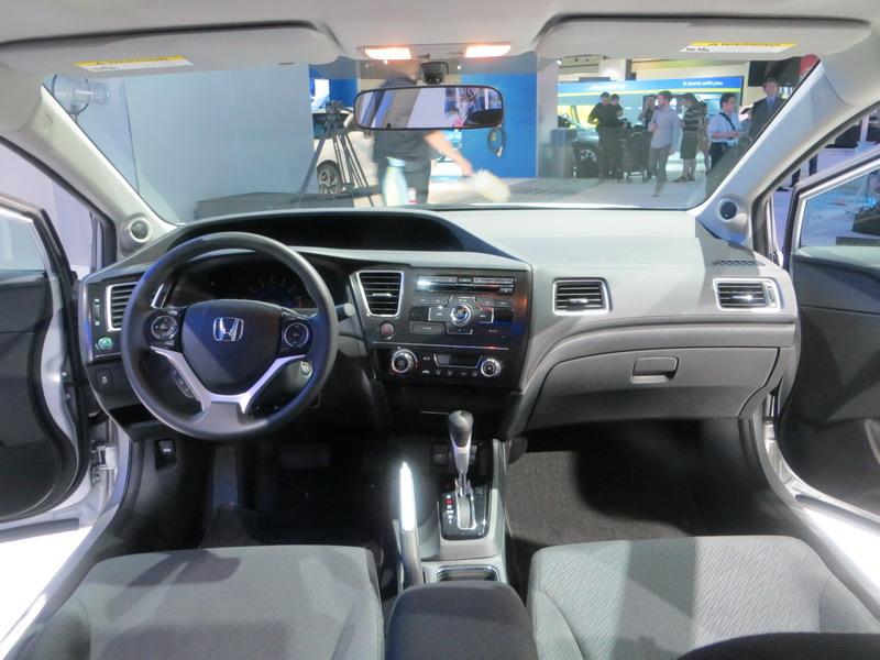 Honda Civic IX Restyling 2013 - 2016 Sedan #7
