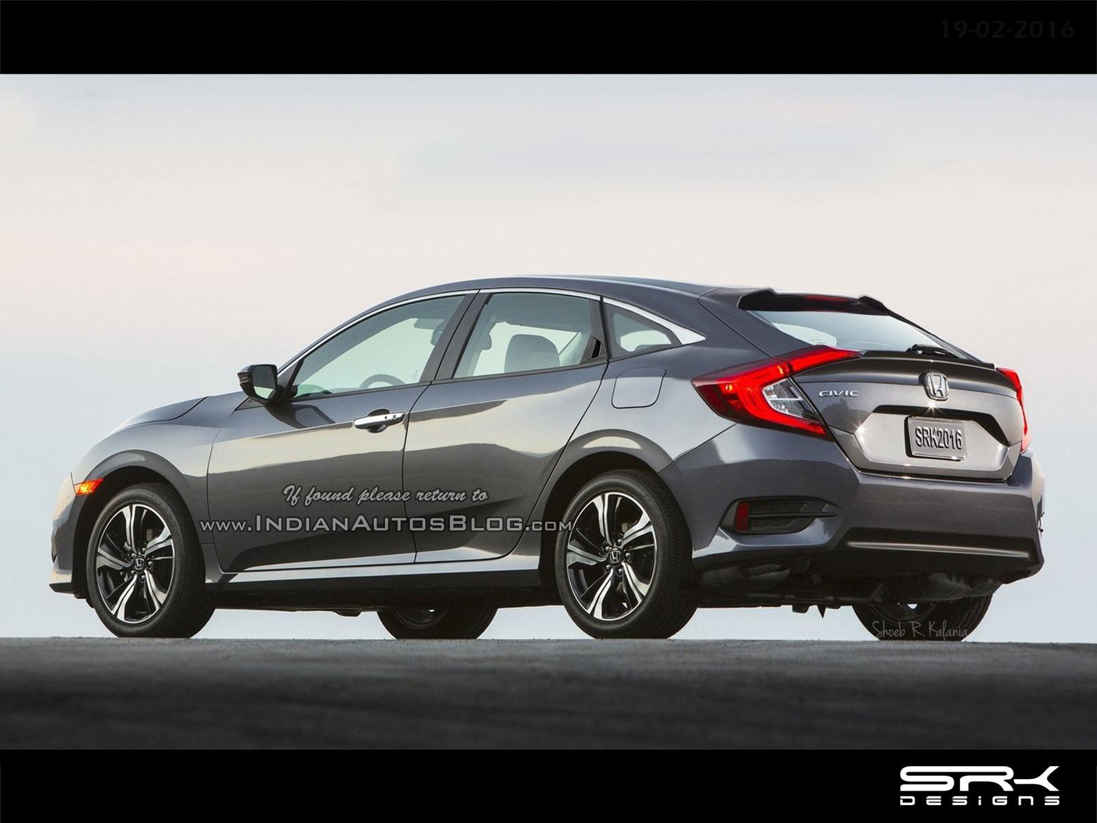 Honda Civic IX Restyling 2013 - 2016 Station wagon 5 door #1