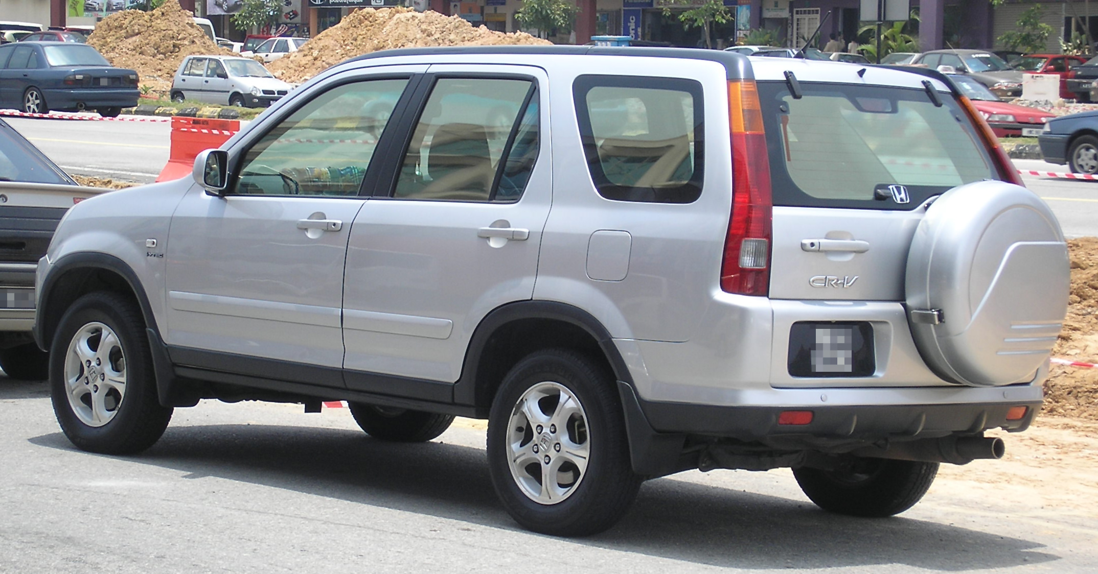 Honda CR-V II 2001 - 2004 SUV 5 door #7