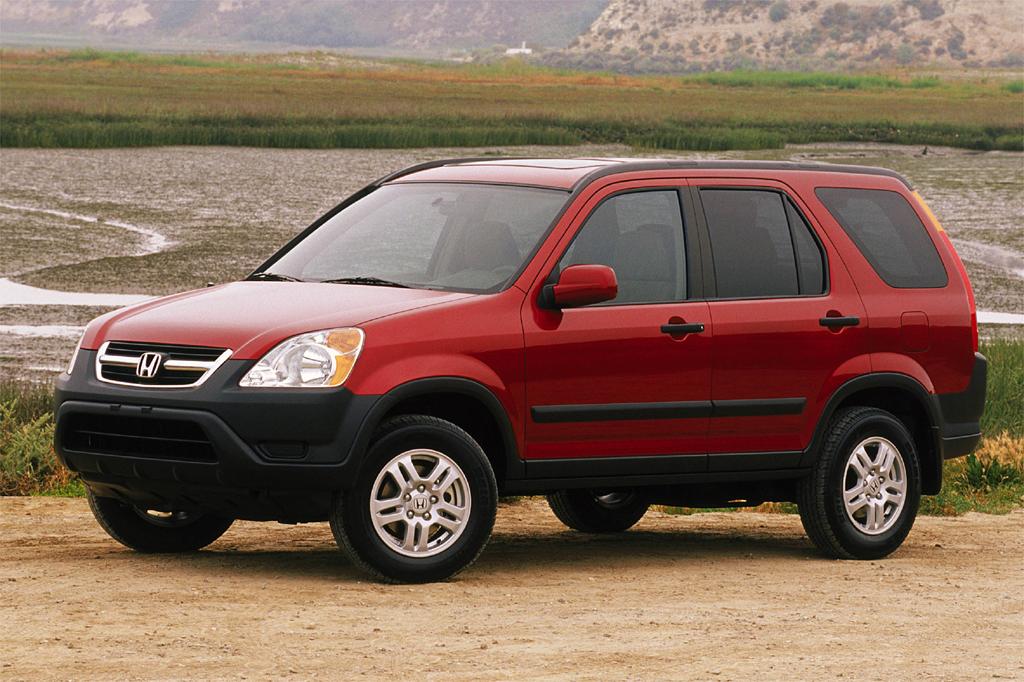 Honda CR-V II 2001 - 2004 SUV 5 door #2