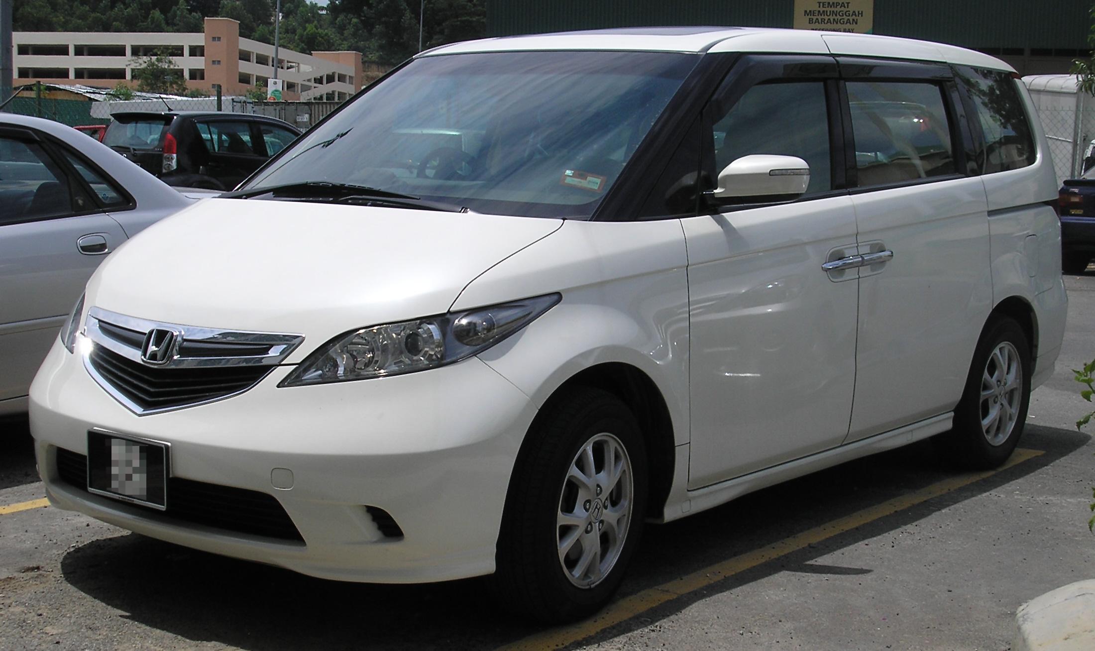 Honda Elysion I Restyling 2006 - 2013 Minivan #8