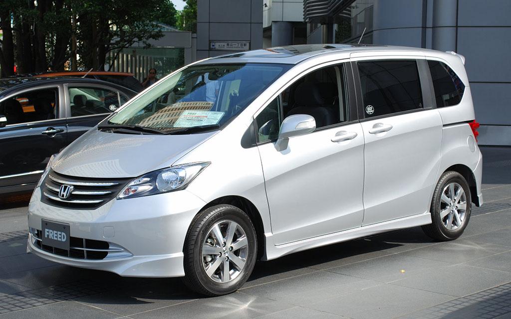 Honda Freed I 2008 - 2016 Compact MPV #1