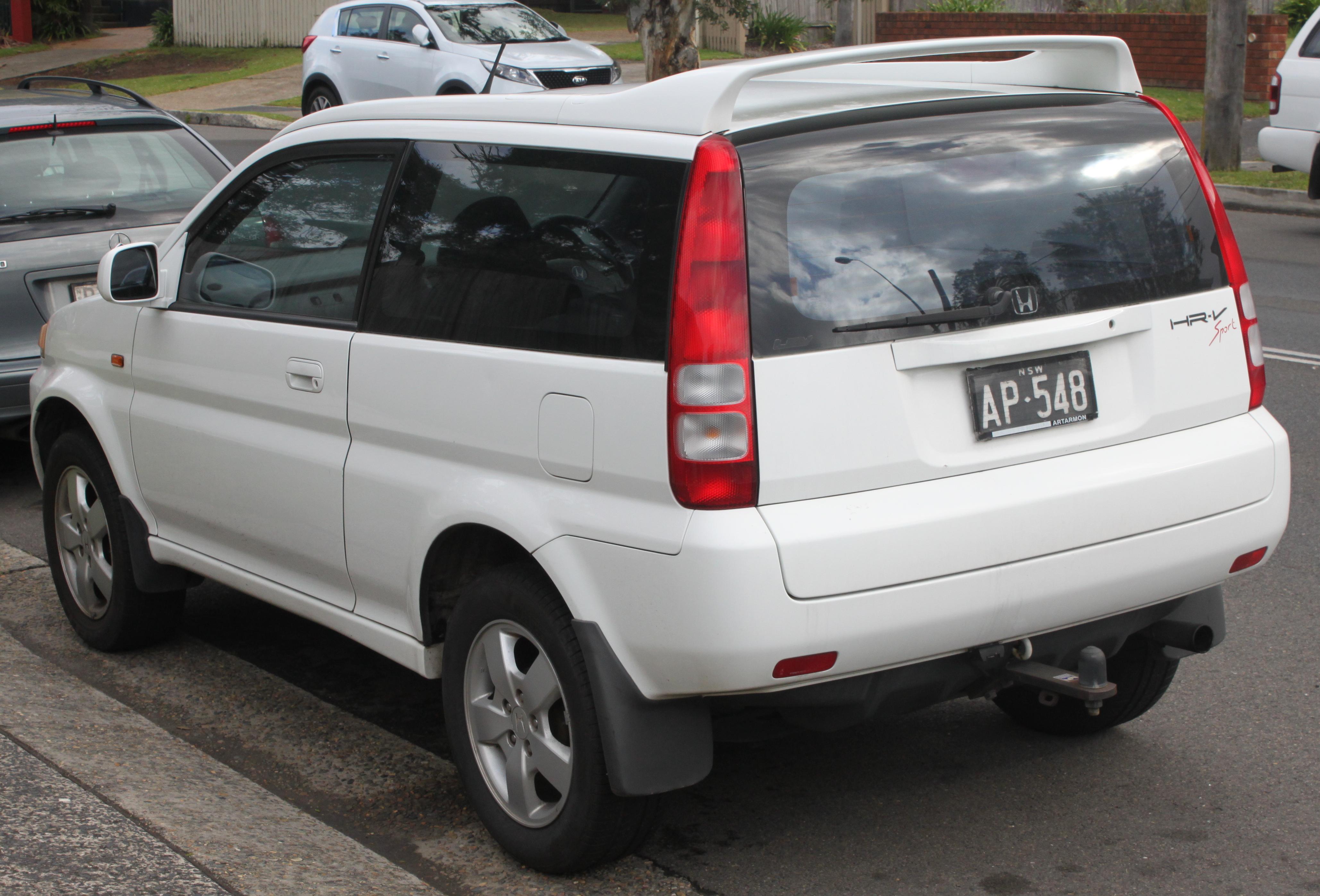 Honda HR-V I 1998 - 2001 SUV 3 door #4