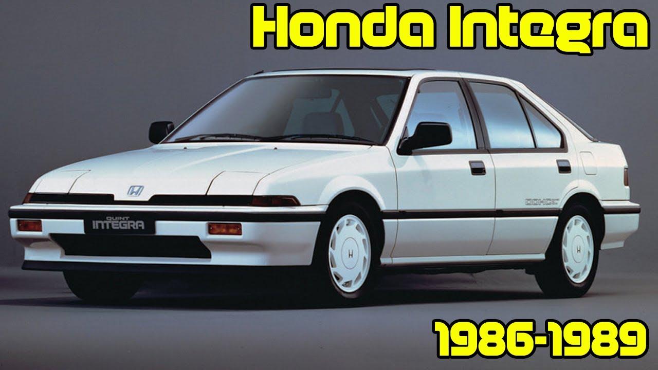 Honda Integra I 1985 - 1989 Sedan #5