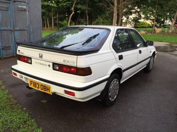 Honda Integra I 1985 - 1989 Sedan #6