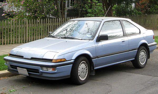 Honda Integra I 1985 - 1989 Sedan #2