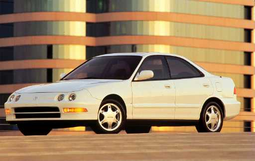 Honda Integra SJ 1996 - 2001 Sedan #6