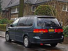 Honda Odyssey (North America) I 1994 - 1998 Minivan #1