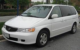 Honda Odyssey (North America) I 1994 - 1998 Minivan #7