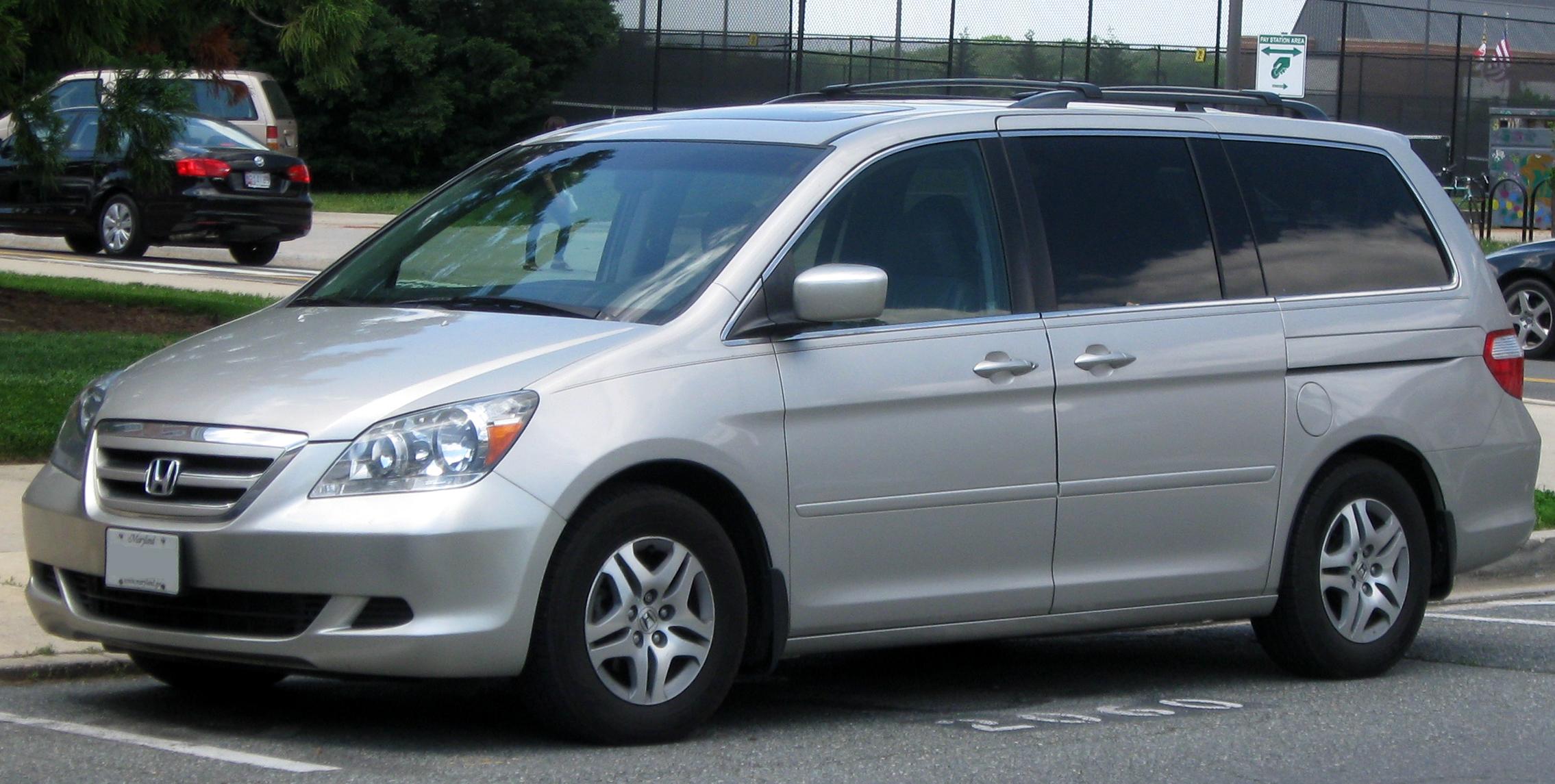 Honda Odyssey (North America) I 1994 - 1998 Minivan #4