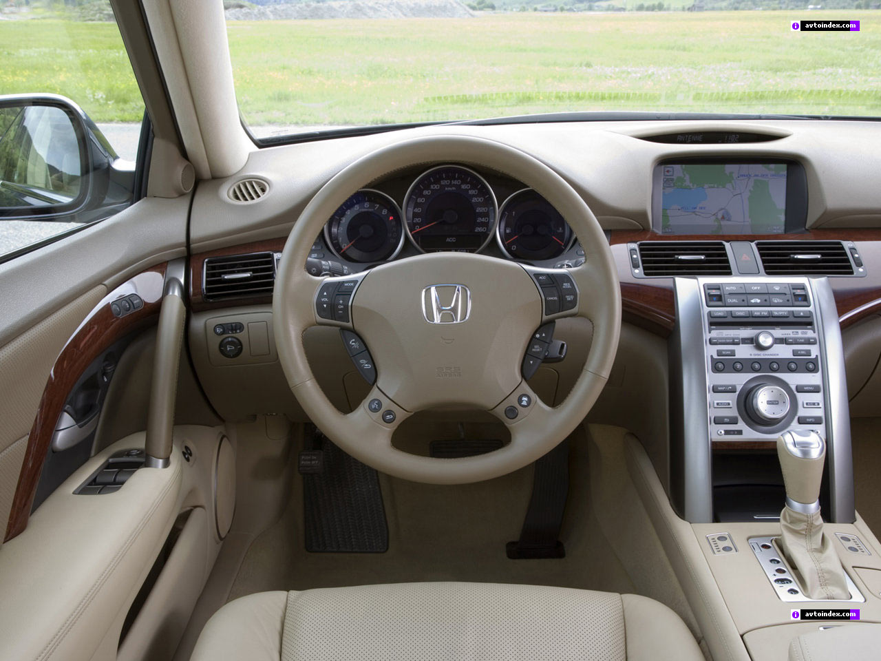 Honda Legend IV Restyling 2008 - 2012 Sedan #6