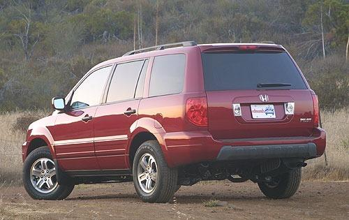 Honda Pilot I 2002 - 2005 SUV 5 door #1