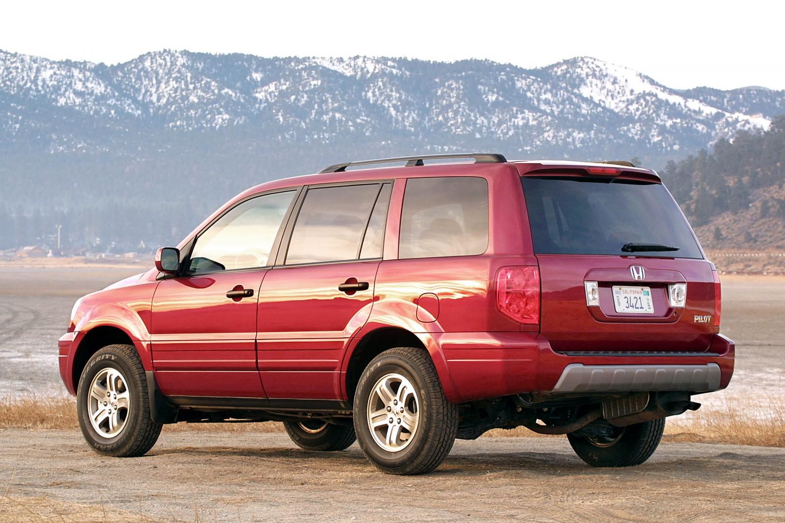 Honda Pilot I 2002 - 2005 SUV 5 door :: OUTSTANDING CARS