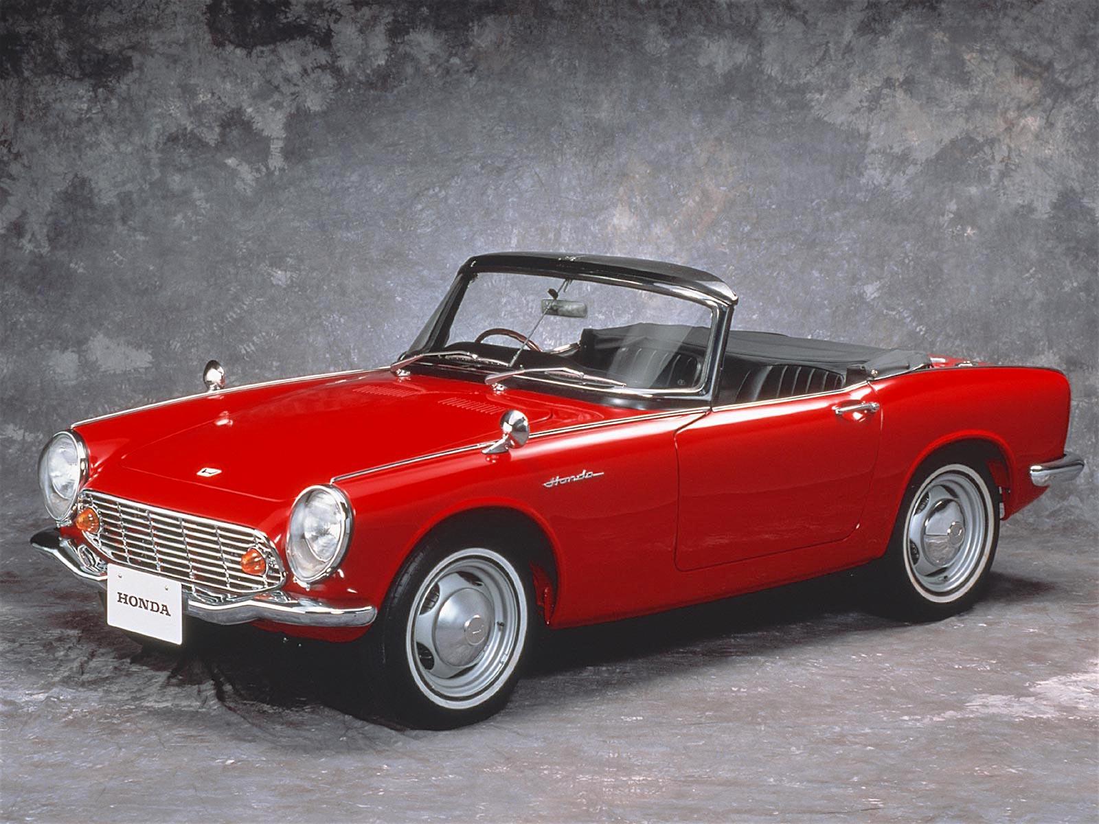 Honda S600 I 1964 - 1966 Cabriolet #4