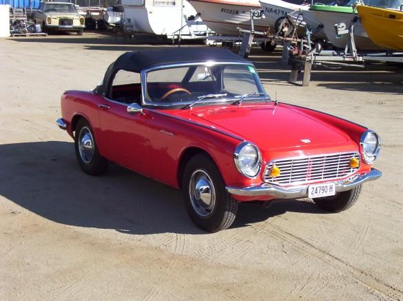 Honda S600 I 1964 - 1966 Cabriolet #1
