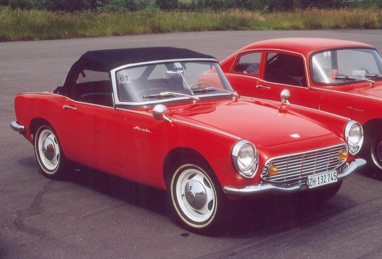 Honda S600 I 1964 - 1966 Cabriolet #2
