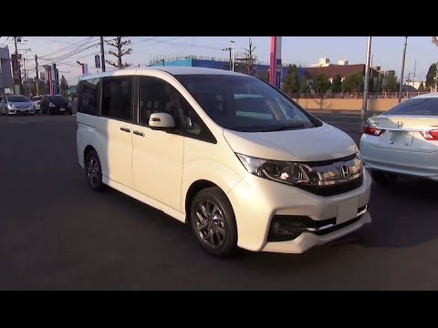 Honda Stepwgn V Restyling 2017 - now Minivan #4