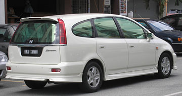 Honda Stream I 2000 - 2003 Compact MPV #7