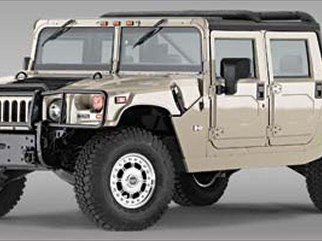 Hummer H1 1992 - 2006 Pickup #8