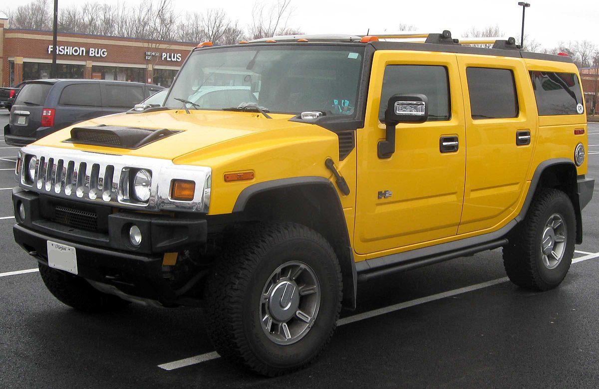 Hummer H2 2002 - 2009 Pickup #8