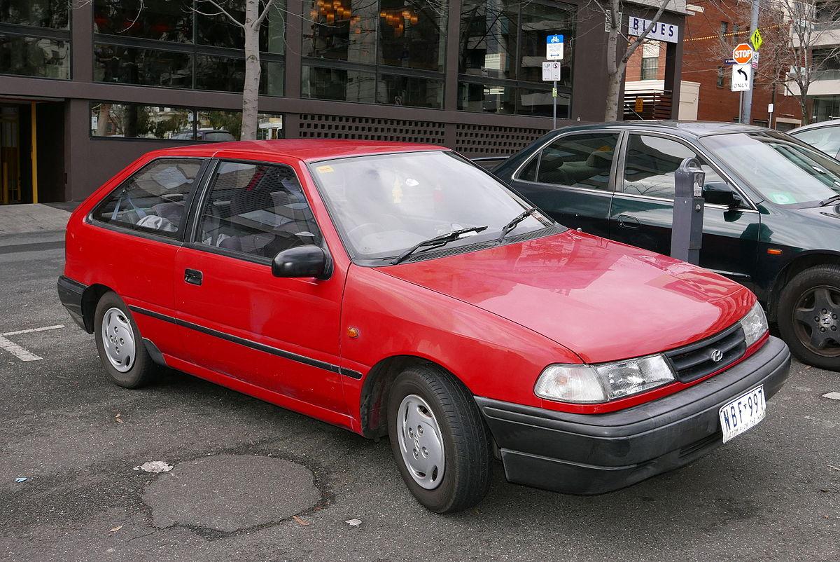 Hyundai Accent I 1994 - 1999 Hatchback 3 door #8
