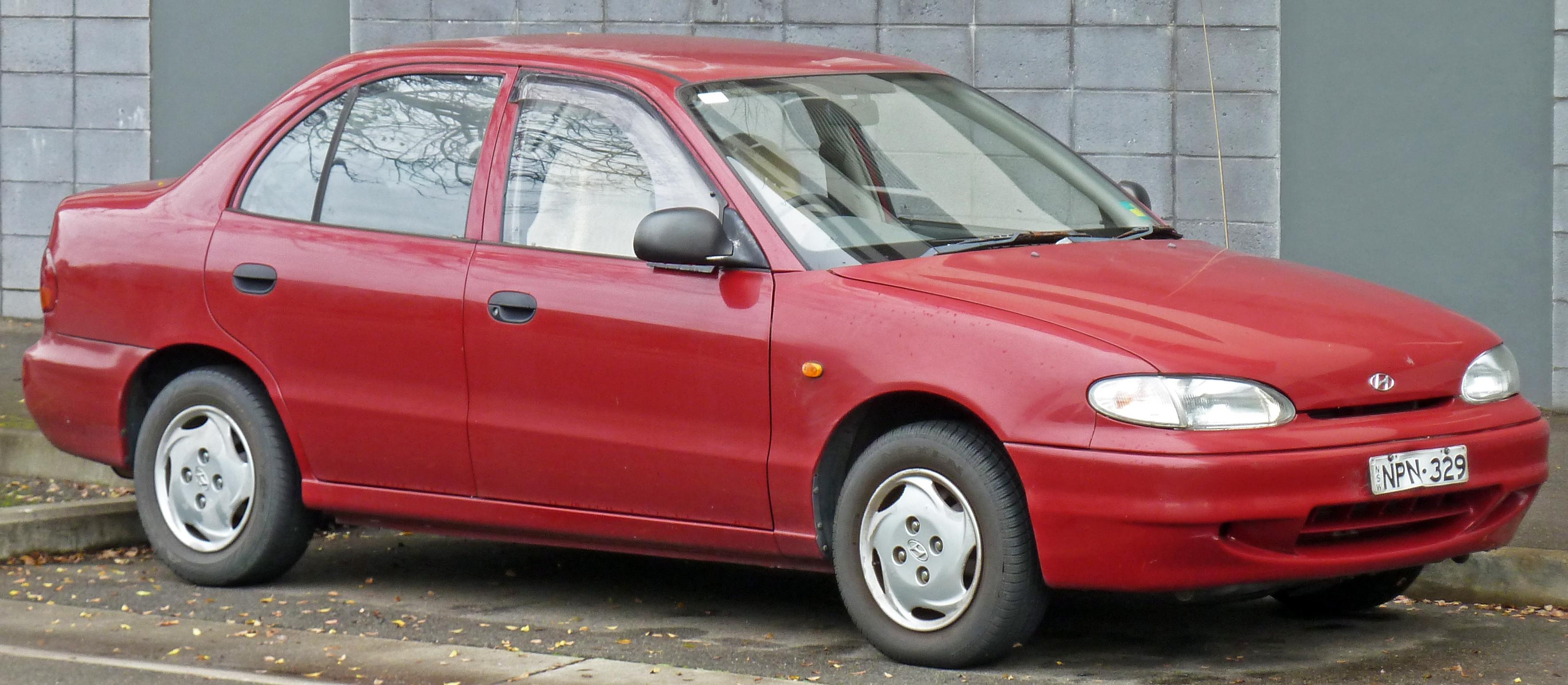 Hyundai Accent I 1994 - 1999 Hatchback 3 door #3
